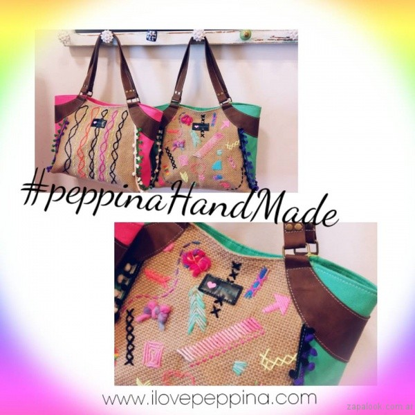 cartera bordada verano 2017 i love peppina