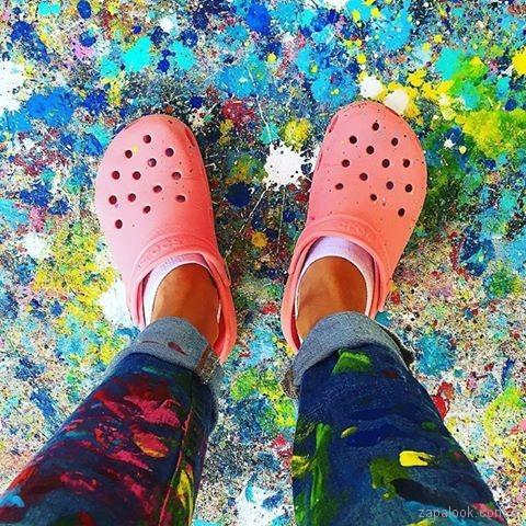 crocs de colores crocs mujer verano 2017