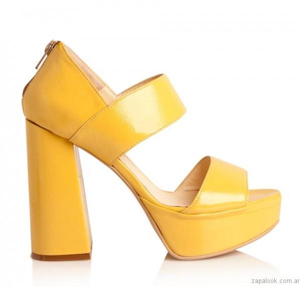 fea3682c sandalia amarilla alfonsa verano 2017 – Zapalook