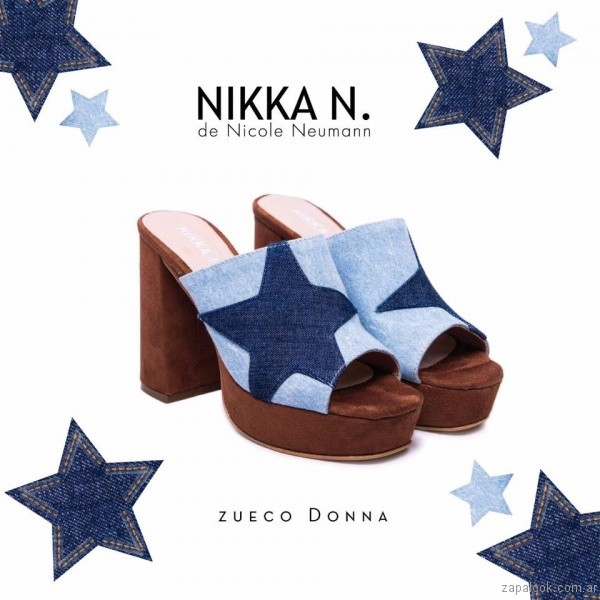sandalias altas nikka n by nicole neumann verano 2017