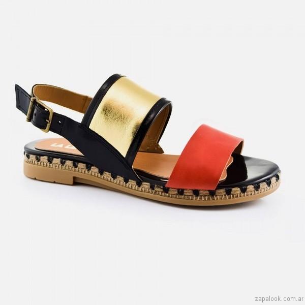 sandalias tiras anchas calzado la leopolda verano 2017