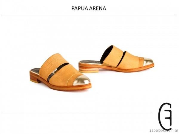 zapatos con punta metalizadas verano 2017 cestfini