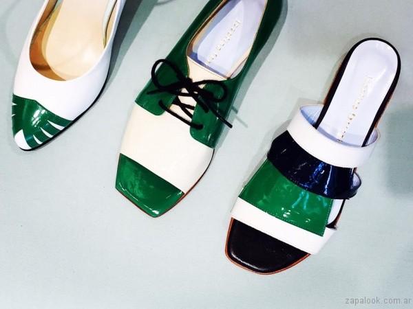 zapatos verdes y blancos josefina ferroni verano 2017