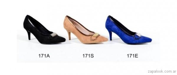 Stilettos elegantes para fiestas invierno 2017 - Micheluzzi
