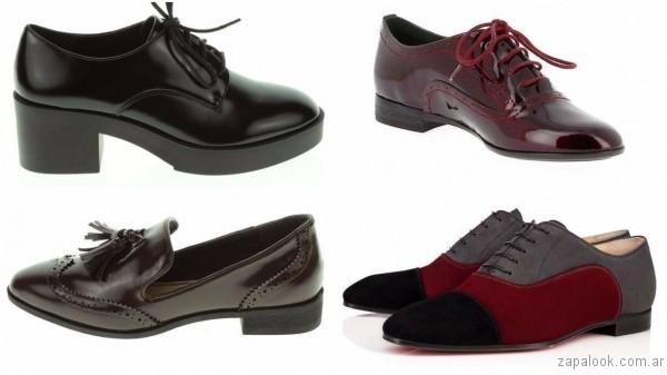 zapatos-estilo-masculino-para-mujer-invierno-2017