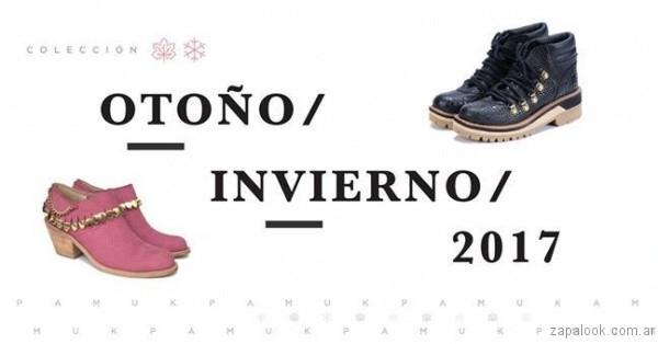 6f698d30109af Pamuk – botas y zapatos otoño invierno 2017