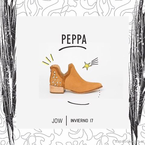 jow anticipo coleccion calzados invierno 2017