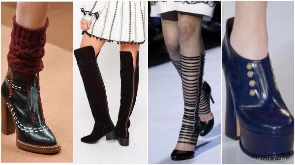 2d8be23c Te presentamos las principales tendencias en calzados otoño invierno 2017.  Los diseñadores de calzado proponen experimentar nuevos materiales, ...