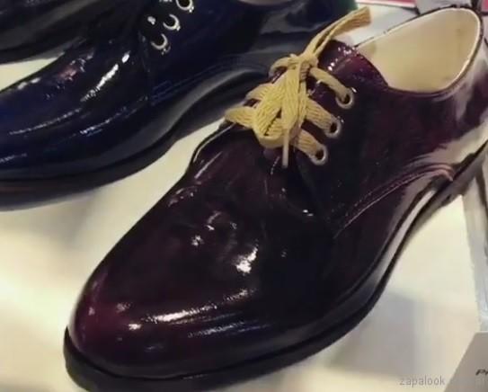 zapatos abotinados rh by lali ramirez invierno 2017