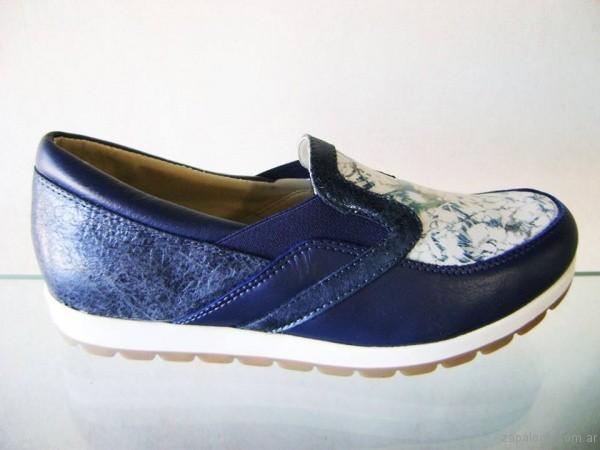 zapatos azules para señoras invierno 2017 Circle Urbano