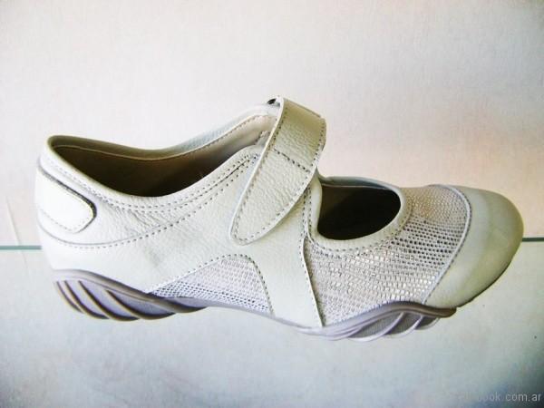zapatos guillermina crema para señoras invierno 2017 Circle Urbano