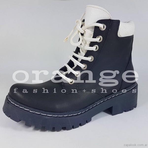 borcego otoño invierno 2017 - Orange fashion shoes otoño invierno 2017