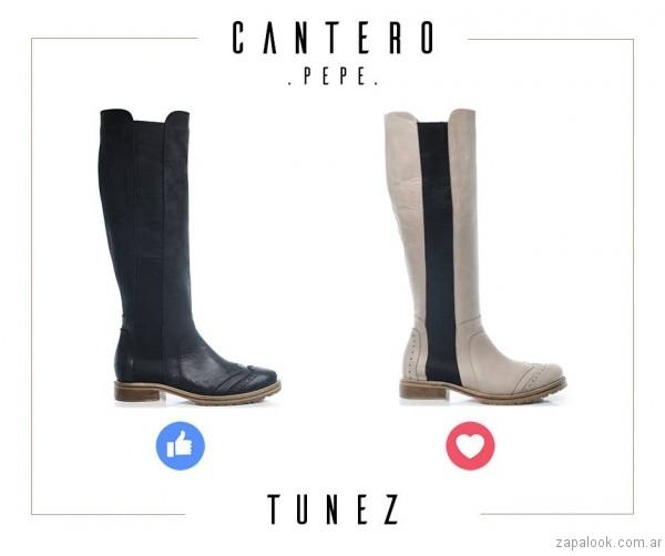 botas de montar otoño invierno 2017 - Pepe Cantero