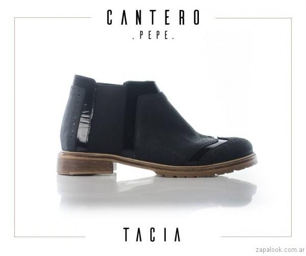 botientas negras otoño invierno 2017 - Pepe Cantero