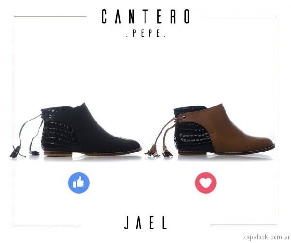 botineta otoño invierno 2017 - Pepe Cantero