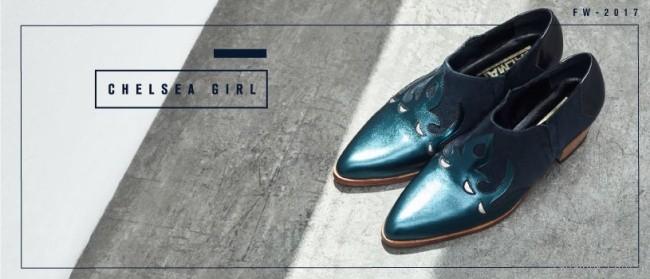 Zapatos metalizados otoño inierno 2017 - Salman