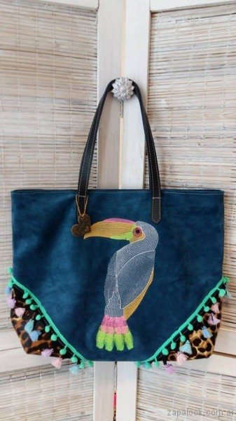bolso de gamuza invierno 2017 I love peppina