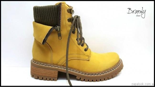 borcego amarillo - zapatos Brandy invierno 2017