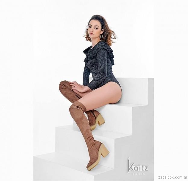 botineta marrones otoño invierno 2017 - Kaitz