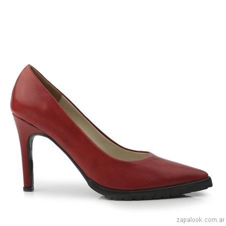 stilettos rojos invierno 2017 - Ferraro calzados