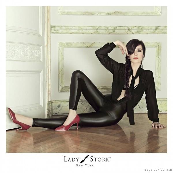 stilettos rojos invierno 2017 - Lady Stork