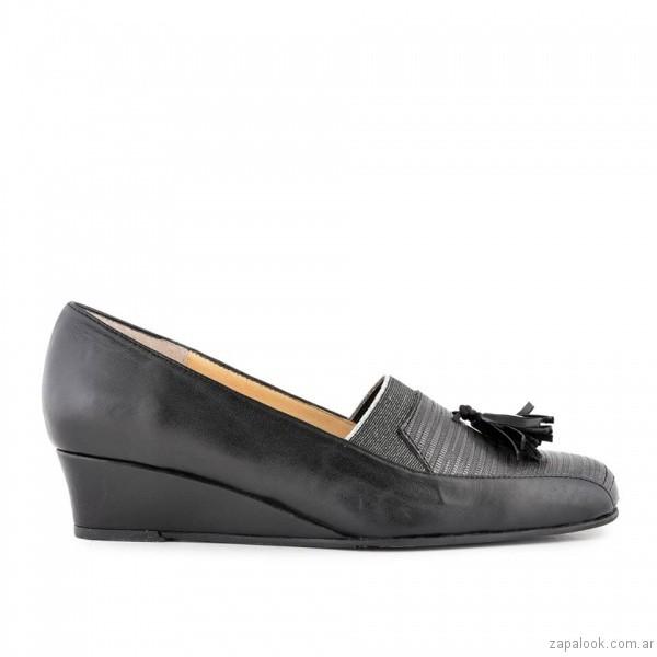zapato de mujer taco chino invierno 2017 - Valerio