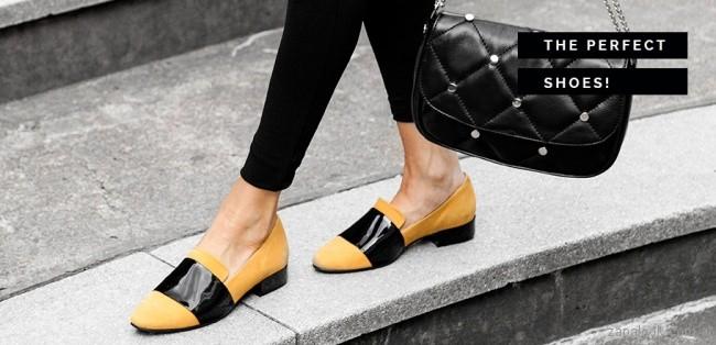 zapatos amarillos y negros invierno 2017 American Pie