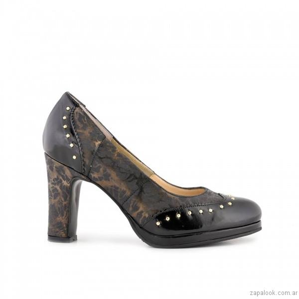 zapatos de mujer con encaje invierno 2017 - Valerio