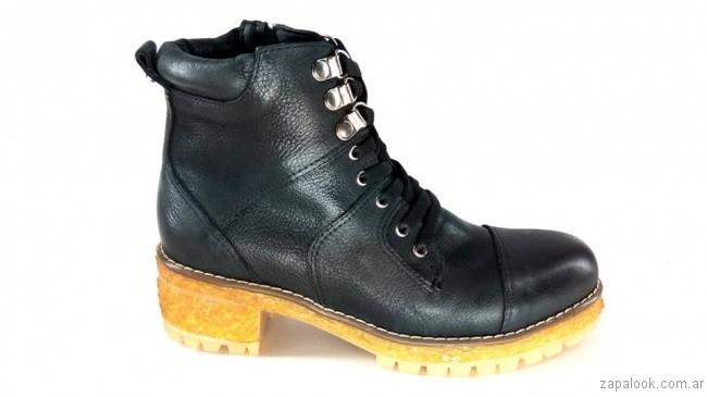 Borcego negro otoño invierno 2017 - Magali Shoes
