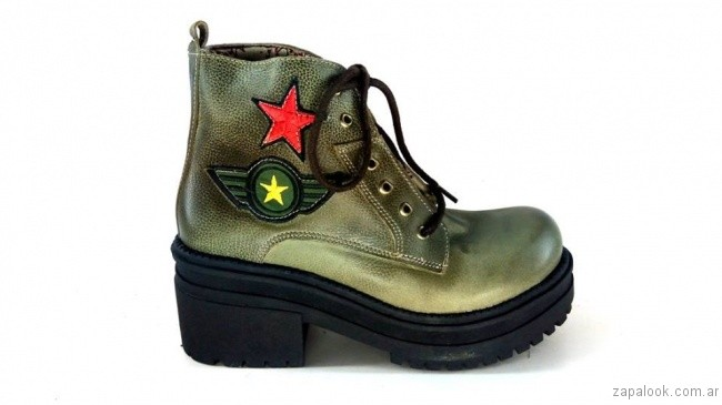 borcego militares otoño invierno 2017 - Magali Shoes