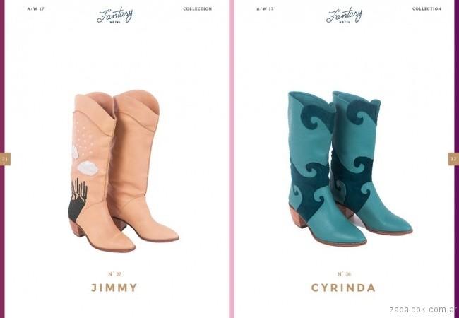 botas estilo texanas otoño invierno 2017 - Lomm calzados
