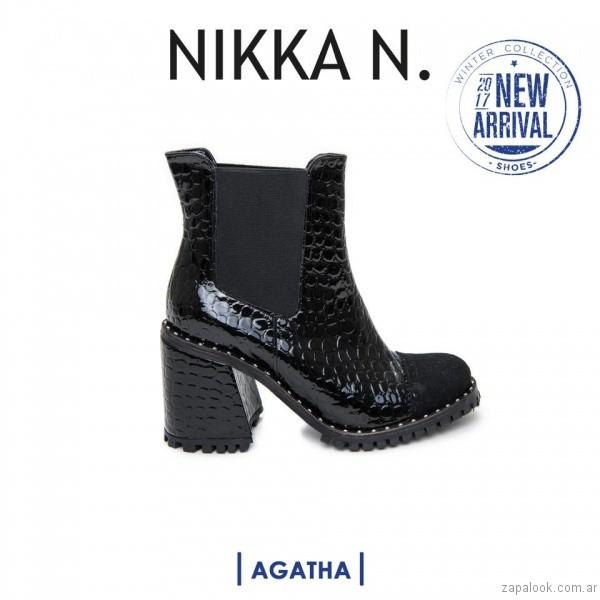 botineta inierno 2017 Nikka N. by Nicole Neumann