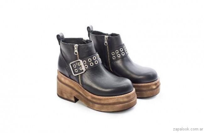 botinetas con plataformas invierno 2017 - Chao Shoes