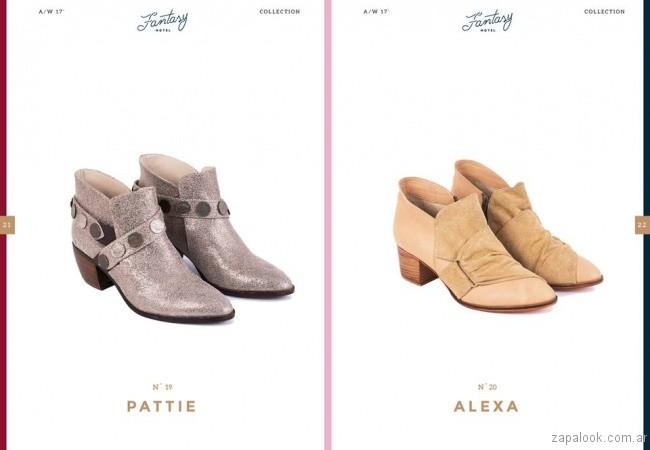 botinetas invierno 2017 - Lomm calzados