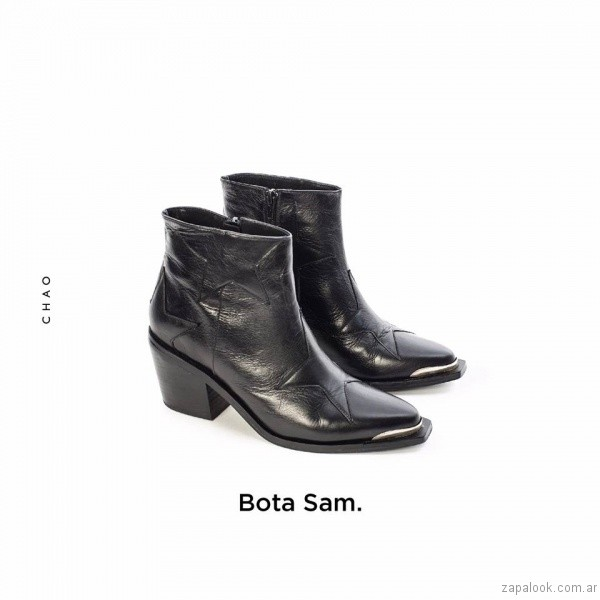 botinetas texanas invierno 2017 - Chao Shoes