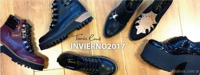 calzados acordonados invierno 2017 Tomas Cane