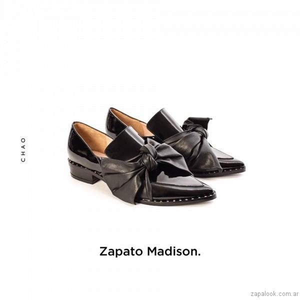 zapato con moño invierno 2017 - Chao Shoes