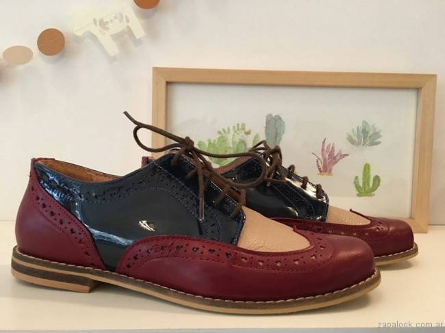 zapatos abotinados invierno 2017 - Alfonsina Fal