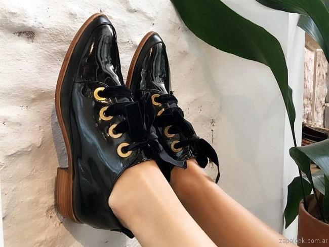 zapatos abotinados invierno 2017 - Calzados Gekke