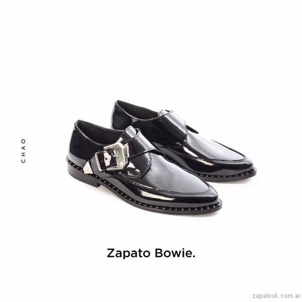 zapatos abotinados mujer invierno 2017 - Chao Shoes