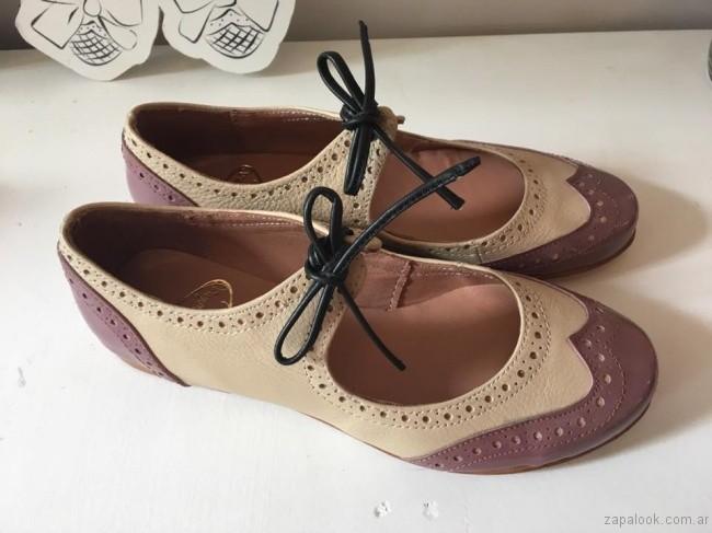 zapatos colores pasteles invierno 2017 - Alfonsina Fal
