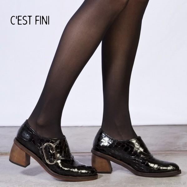 zapatos con hebillas invierno 2017 - Cestfini
