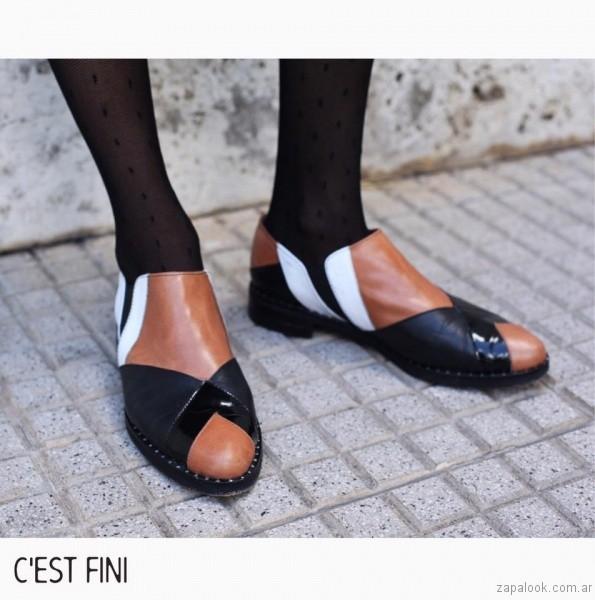zapatos con recortes invierno 2017 - Cestfini
