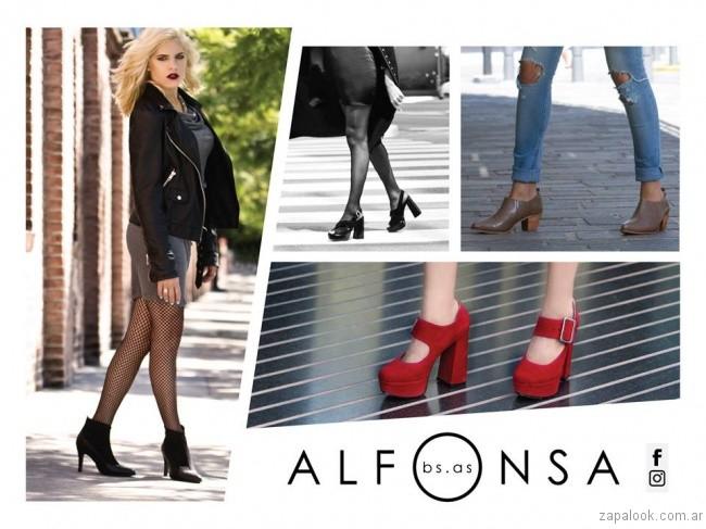 zapatos de noche invierno 2017 Alfonsa Bs As