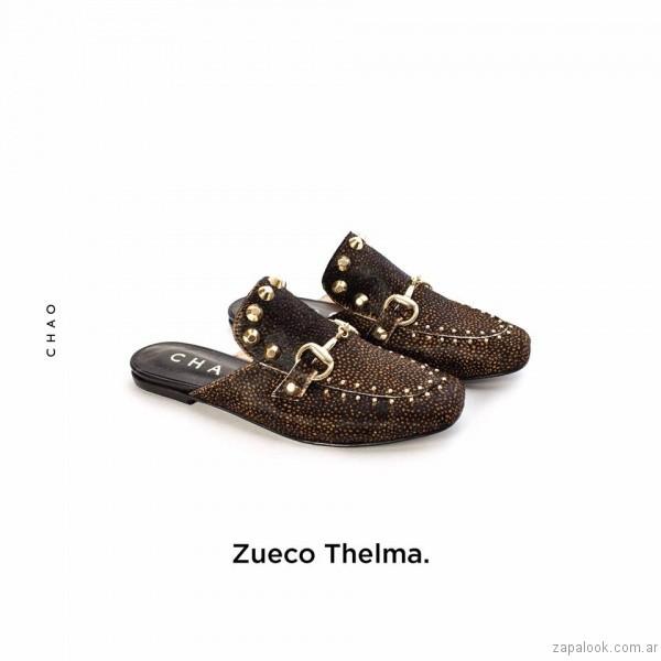 zuecos con tachas invierno 2017 - Chao Shoes