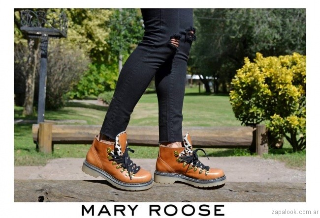 borcego marrones Mary Roose - calzados otoño invierno 2017