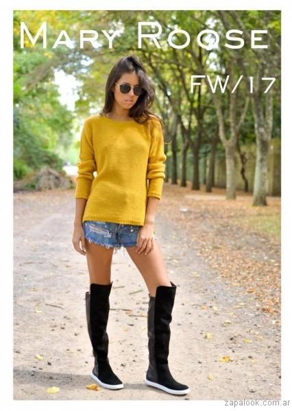 bucaneras urbanas Mary Roose - calzados otoño invierno 2017