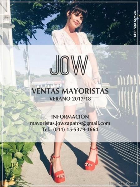 Jow Zapatos primavera verano 2018