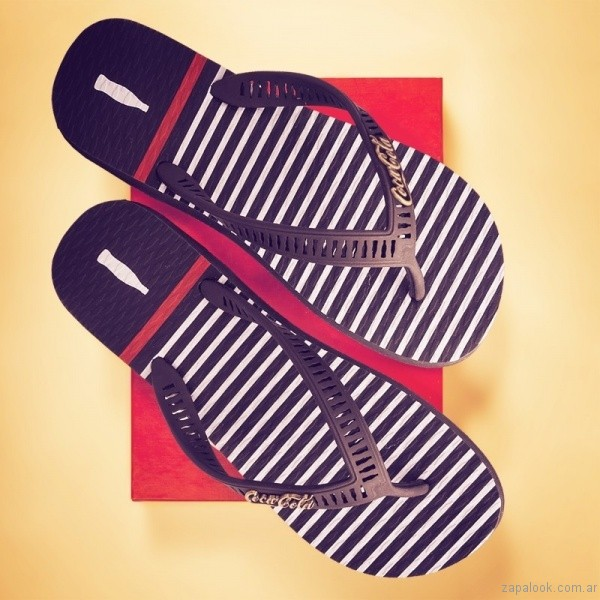 Ojotas coca cola shoes verano 2018