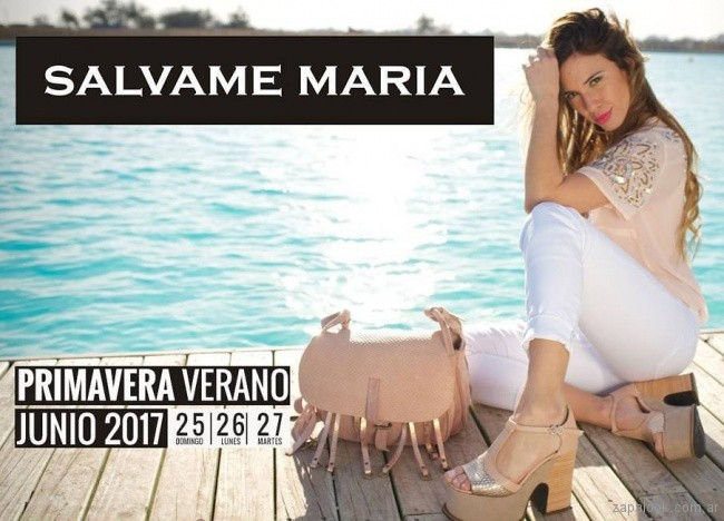 Salvame Maria - anticipo coleccion calzados verano 2018